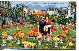 COTE D'AZUR - Fruits D'or : Oranges Etr Citrons - Provence-Alpes-Côte D'Azur