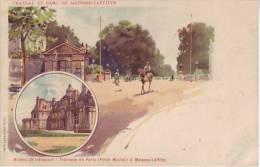 78 MAISONS LAFFITTE - (1900) Tramway De Paris (porte Maillot) Moyen De Transport - D8 Chateau Et Parc - Maisons-Laffitte