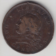 @Y@    Argentinie  2 / Dos Centavos   1892     (2461) - Argentinië