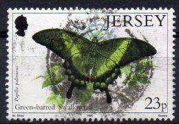 JERSEY 1995 Butterflies 23p Used - Jersey