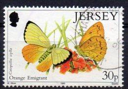 JERSEY 1995 Butterflies 30p Used - Jersey