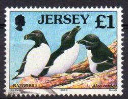 JERSEY 1997-99 Sea Birds & Waders £1 Used - Jersey