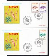 CHIPRE 1972   FDC.SOBRE 1er. DIA .CN 732 - Europa-CEPT