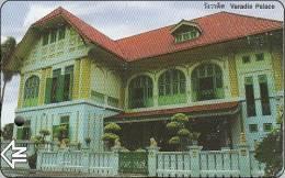 Thailand Prepaidcard  BTS Train   Temple House - Eisenbahnen