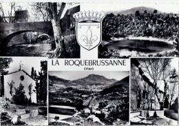 83 - LA ROQUEBRUSSANNE - Multivues - Blason - Ecusson - Armoiries - Ed Combier - Saint-Mandrier-sur-Mer
