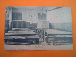 CPA  VINCENNES - 94 - Institution DIOT - Le Cours Supérieur - Rue De Fontenay - Val De Marne - Vincennes