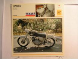 Lot De 3 Fiches Moto - Yamaha - Japon - Unclassified