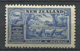 NOUVELLE ZELANDE 1936 - Moutons - Neuf AVEC Legere  Trace Charniere (Yvert 229) - Nuovi