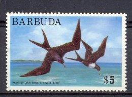 Msk054 FAUNA VOGELS FREGATVOGEL FRIGATEBIRD BIRDS VÖGEL AVES OISEAUX BARBUDA 1974 PF/MNH - Albatros & Stormvogels