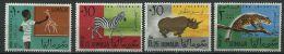 SOMALIE 1960 - Zebre Rhinoceros Leopard - Neuf Trace Charniere (Yvert 6/8 - A7) - Somalia (1960-...)