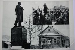 USSR PROPAGANDA RUSSIA. KASHINO.  LENIN MONUMENT  1965 - Monuments