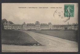 DF / 28 EURE ET LOIR / PONTGOUIN / LE CHÂTEAU DES VAUX / CIRCULEE EN 1910 - Autres Communes