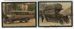 2 Petites Photo 6,5 Par 5 Cms Autobus  Omnibus Putney Londres - Bus & Autocars