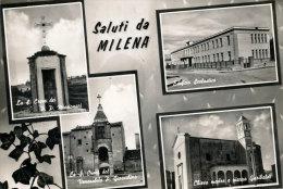 MILENA (CL) SALUTI E VEDUTINE - Caltanissetta