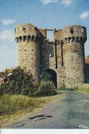 Cpsm 79 ARGENTON CHATEAU - Les Tours De L´ancien Château De SANZAY - D22 3 - Argenton Chateau
