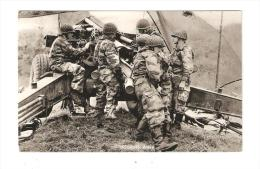 CSM : Münsingen : 155mm Haubitze : Soldats Autour D'un Engin Militaire ... - Manovre