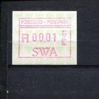 240287179 Zuid West Afrika POSTFRIS MINT NEVER HINGED POSTFRISCH EINWANDFREI Michel Set 1.2 - Vignettes D'affranchissement (Frama)