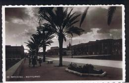 RB 954 - Early Postcard - Notturno Messina Sicily - Italy - Messina