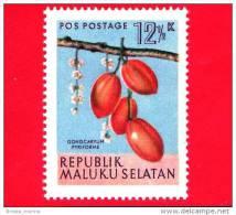 Etichette Di Fantasia -  1954 - Republik Maluku Selatan - Flora - Piante - Gonocaryum Pyriforme - 12.5 - Altre Collezioni