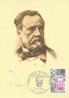 CARTE MAXIMUM - MAXICARD - MAXIMUMKARTE - MAXIMUM CARD - FRANCE - LOUIS PASTEUR -  MICROBIOLOGISTE - Louis Pasteur