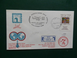 38/391  HELIOPOST  1974 - Airmail