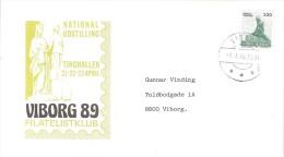 DENMARK  # LETTER FROM YEAR 1989 - Postal Stationery