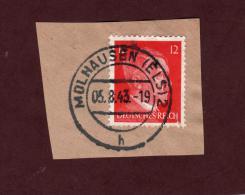 712 De 1941/43 - MOLHAUSEN. 67. FRANCE - Cachet Du 05-8-1943 - Occupation Allemande Par Le 3 ème Reich - Guerre De 1939-45