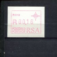 240294169 ZUID AFRIKA   POSTFRIS MINT NEVER HINGED POSTFRISCH EINWANDFREI ATM MICHEL 3 ATM P010 - Vignettes D'affranchissement (Frama)