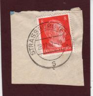 710 De 1941/43 - STRASBOURG - STRASSBURG. 67. FRANCE - Cachet Du 28-12-1942 - Occupation Allemande Par Le 3 ème Reich - Guerre De 1939-45