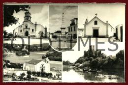 VILA NOVA DA BARQUINHA - MONUMENTOS DO CONCELHO - PROVA DE EDITOR - 1950 REAL PHOTO PC - Santarem
