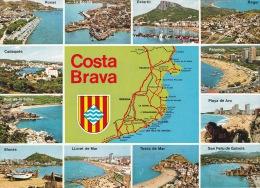 España-Gerona-Costa Brava - Mapas