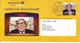 84  Deutsche Post Philatelie   Lachen Mit Heinz Erhardt  55 Pf Noch`n Gedicht Heinz Ehrhardt - Umschläge - Gebraucht