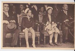 Princesse Joséphine-Charlotte Et Prince Baudouin Au Championnat Du Jeu De Balle En 1939 - Manifestations