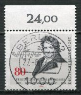 """Bund 1984 Mi.Nr.1219 Spezial Berlin Stempel""""200.Geb. Von Friedrich Wilhelm Bessel,Astronom  """" 1 Wert Berlin Gestempelt - Astrologie"""