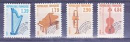 France N** 1989 N°  Préo 202 203 204 205 - France