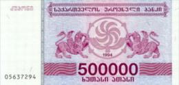 Georgia 500000 Laris 1994 Pick 51 UNC - Géorgie
