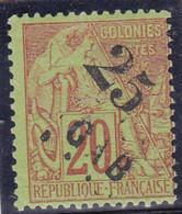 GABON - YVERT N° 3 * - COTE = 110 EUR. - - Gabon (1886-1936)