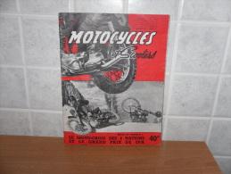 RIVISTA MOTOCICLISMO MOTOCYCLISME  MOTOCYCLES ET SCOOTERS GRNAD PRIX DE SPA - Giornali