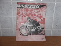 RIVISTA MOTOCICLISMO MOTOCYCLISME  MOTOCYCLES LES CHAMPIONS  DE FRANCE - Giornali