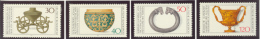 BL3-66 GERMANY 1976 MI 897-900 ARCHEOLOGY, ARTEFACTS FROM ANCIENT CULTURES. MNH, POSTFRIS, NEUF**. - Archeologie