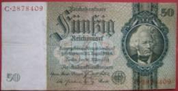 50 Reichsmark 1933 (WPM 182a) 30.3.1933 - 50 Reichsmark