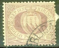République - SAINT MARIN - SAN MARINO - Filigrane Couronne - N° 29 - 1895 - Saint-Marin