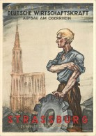 67 STRASSBURG - 29/08 Bis 21/09/1941 - Deutsche Wirtschaftskraft Aufbau Am Oberrhein - Strasbourg