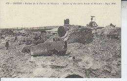 80 SOMME - Ruines De La Ferme De MONACU -  Reproduction - LES CARTES D AUTREFOIS - éditions ATLAS - France