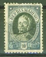 Mort Du Capitaine Régent Antonio Onofri  - SAINT MARIN - SAN MARINO - N°122 - 1926 - Oblitérés