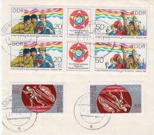 1983, 2 X Y&T 2479 Et 1985 2 X 2584A Sur Fragment, Loz 40015 - Usados