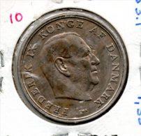 MONNAIE    DANEMARK        5 KRONER 1967   KM 853;1        Lot N° 10 - Denmark
