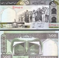 Iran #137A-NL, 500 Rials, ND (2003-), UNC / NEUF - Iran