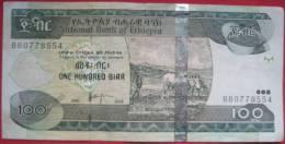 100 Birr 2008 (2000) (WPM 52d) - Ethiopie