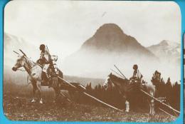 C.P.M. Indiens D' Amérique - Blackfoot Indians 1880 - Etats-Unis